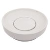 DECOLAV Matt Muenster Exclusive Collection Vitreous China Above Counter or Semi-Recessed Round Lavatory
