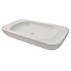 DECOLAV Matt Muenster Exclusive Vitreous China Above Counter Rectangular Lavatory with Rounded Corners
