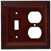 Franklin Brass Classic Architecture Single Switch Gang Duplex Wall Plate