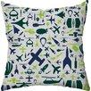 Checkerboard, Ltd Aeronaut Throw Pillow