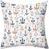 Checkerboard, Ltd Sailing Away Throw Pillow