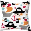 Checkerboard, Ltd Pirate Ship Throw Pillow
