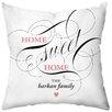 Checkerboard, Ltd Sweet Home Throw Pillow