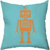 Checkerboard, Ltd Sweet Robot Throw Pillow