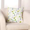 Checkerboard, Ltd Garden Lovers Throw Pillow