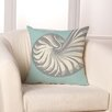 Checkerboard, Ltd Nautilus Throw Pillow