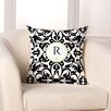 Checkerboard, Ltd Damask Monogram Personalized Throw Pillow