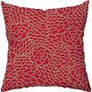 Checkerboard, Ltd Winter Rouge Holiday Throw Pillow