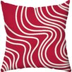Checkerboard, Ltd Abstract Foliage Holiday Throw Pillow
