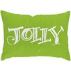 Checkerboard, Ltd Jolly Holiday Lumbar Pillow