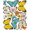 Wallies Pastel Butterflies Wall Decal