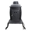 United States Stove Company EPA Certified Cast Iron Log 900 Square Foot Wood Stove
