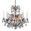 Mark Slojd Kronnovall Light Crystal Chandelier