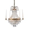 Mark Slojd Krageholm 3 Light Crystal Chandelier