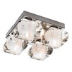 Mark Slojd Hoor 4 Light Flush Ceiling Light
