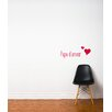 ADZif Blabla Maman/Papa D'Amour Wall Decal
