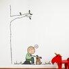 ADZif Piccolo Happy dog Wall Decal