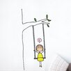 ADZif Piccolo Swinging Wall Decal