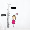 ADZif Piccolo Watch Me Grow! Girl Growth Chart
