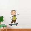 ADZif Piccolo Skateboard Hero Wall Decal