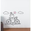 ADZif Piccolo a Fine Day For a Ride Wall Decal