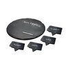 Epicureanist Slate Cheese Markers and Tray (Set of 4)