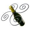 Epicureanist Swirl 1 Bottle Tabletop Wine Rack
