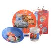Creatable Children's Service Cars 3 Piece Place Setting
