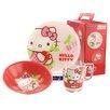 Creatable 3-tlg. Kindergeschirr-Set Hello Kitty