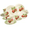 Creatable Stoneware New Orchard Combo Service 30 Piece Dinnerware Set