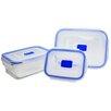 Creatable 3-tlg. Frischhaltedosen-Set Aufbewahrungsbox