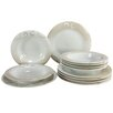 Creatable Soft 12 Piece Porcelain Dinnerware Set