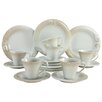 Creatable Soft 18 Piece Porcelain Dinnerware Set