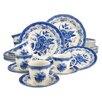 Creatable Stoneware Victorian Combo Service 30 Piece Dinnerware Set