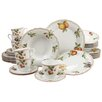 Creatable Orchard 30 Piece Porcelain Dinnerware Set