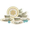 Creatable Majestosa 18 Piece Porcelain Coffee Set