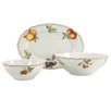 Creatable Orchard 3 Piece Serving Set