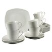 Creatable Amelie 18 Piece Porcelain Coffee Set