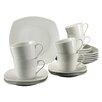 Creatable Amelie 18 Piece Porcelain Coffee Set