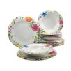 Creatable Soft Samira 12 Piece Dinnerware Set