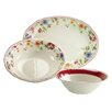 Creatable Cornwall Garden 3 Piece Serving Set