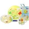 Creatable Winnie the Pooh Garden 3 Piece Children's Dinnerware Set