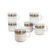 Creatable Bayrische Woche Coffee Mug Set (Set of 6)