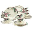 Creatable Dark Rose 30 Piece Dinnerware Set