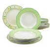 Creatable Alba Spring Rose12 Piece Dinnerware Set