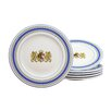 Creatable Bayrische Woche 6 Piece Bread Side Plate Set (Set of 6)
