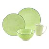 Creatable Mediterran 4 Piece Dinnerware Set