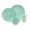 Creatable Mediterranian 4 Piece Dinnerware Set