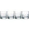 Creatable 4 Piece Whisky Glass Set