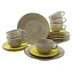 Creatable Organic Elements 18 Piece Coffee Set